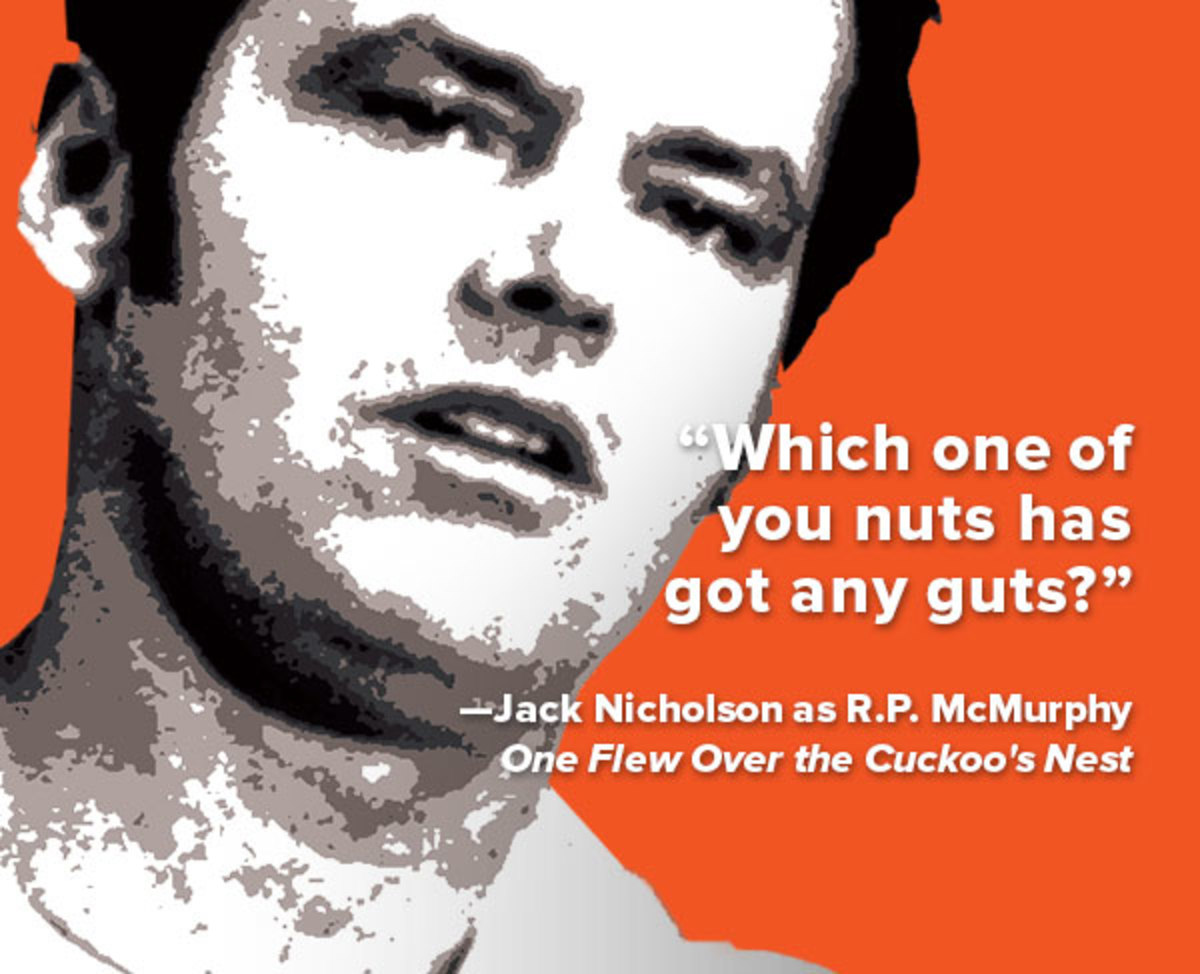 One Flew Over The Cuckoos Nest Quotes Quote of the Week: From 'One Flew Over the Cuckoo's Nest'   Biography One Flew Over The Cuckoos Nest Quotes