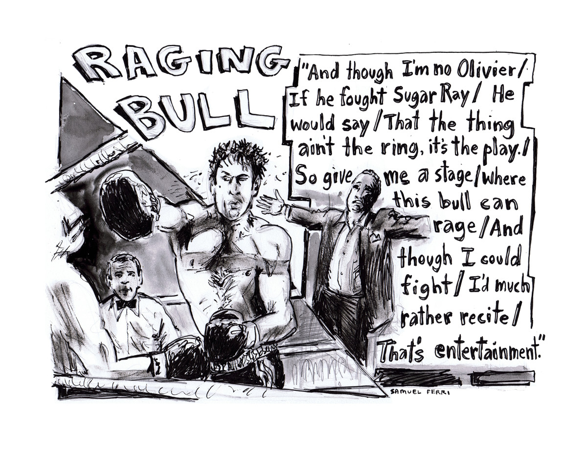 Raging Bull Comic