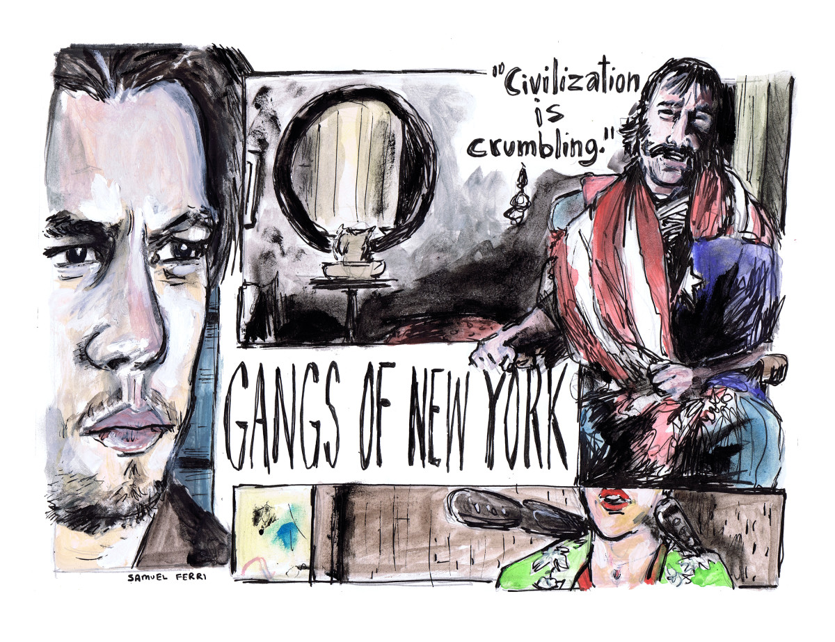Gangs of New York Comic