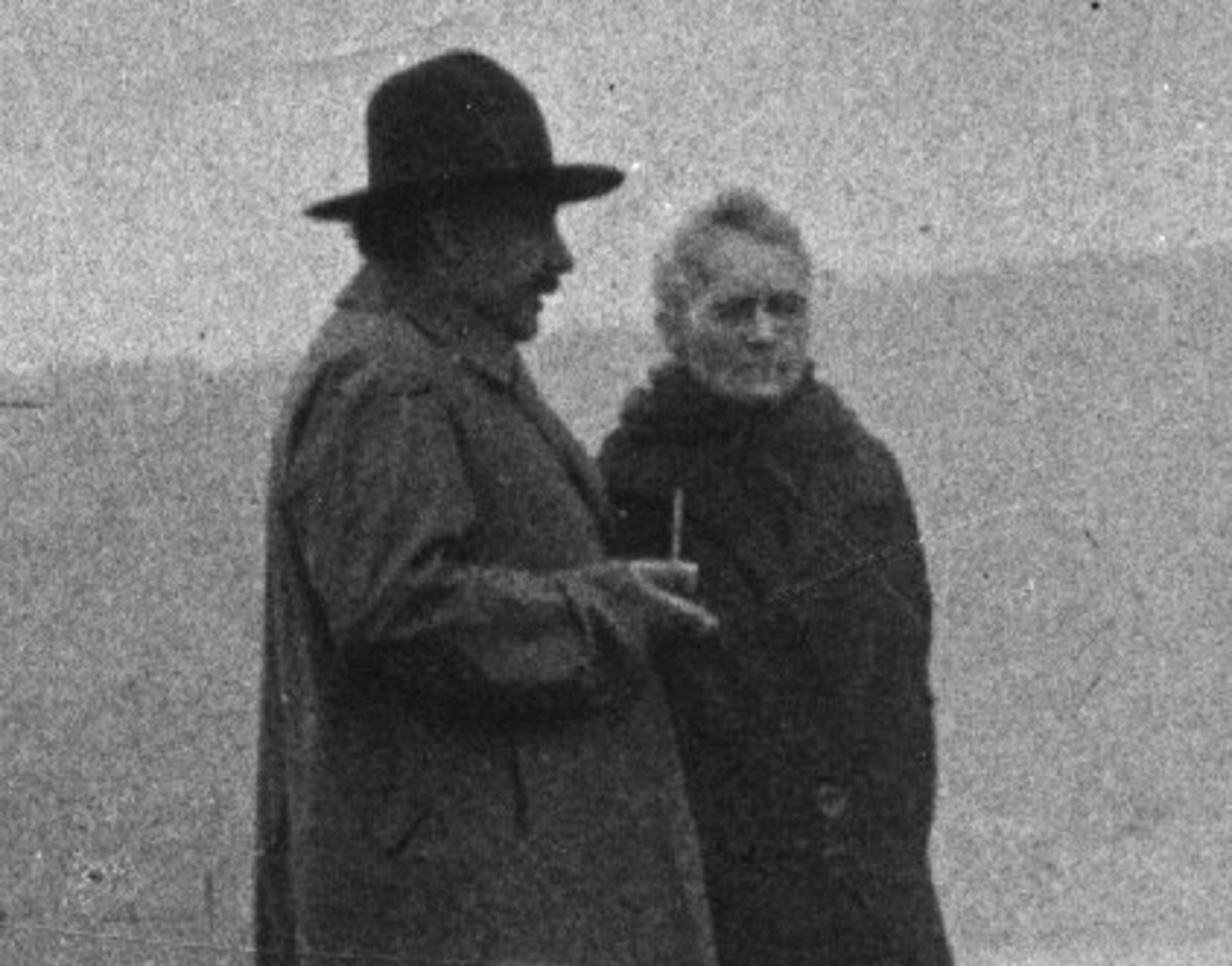 Albert Einstein Marie Curie Photo