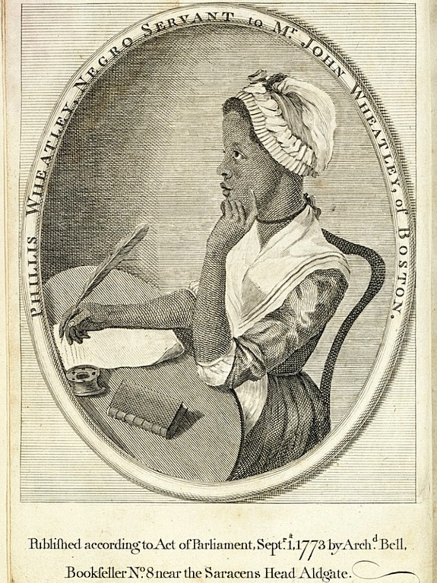 Phillis Wheatley book jacket