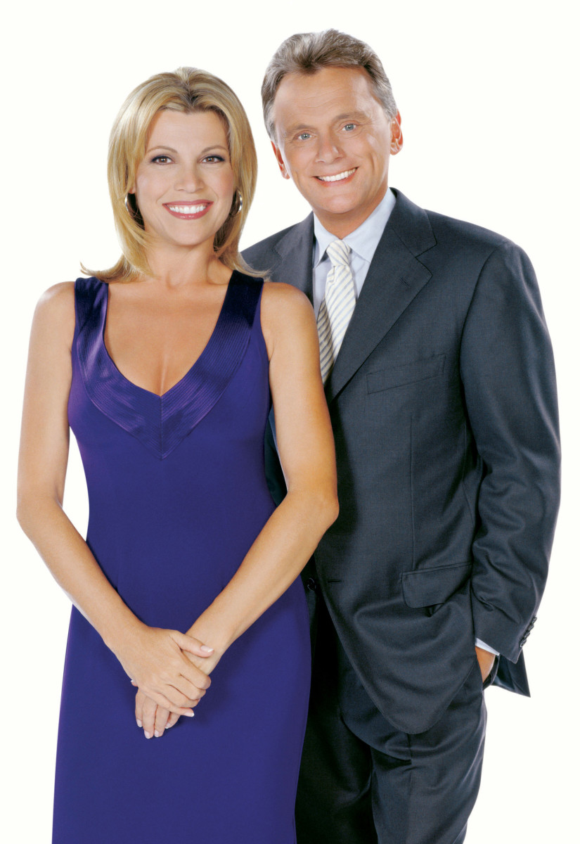 Vanna White and Pat Sajak Photo
