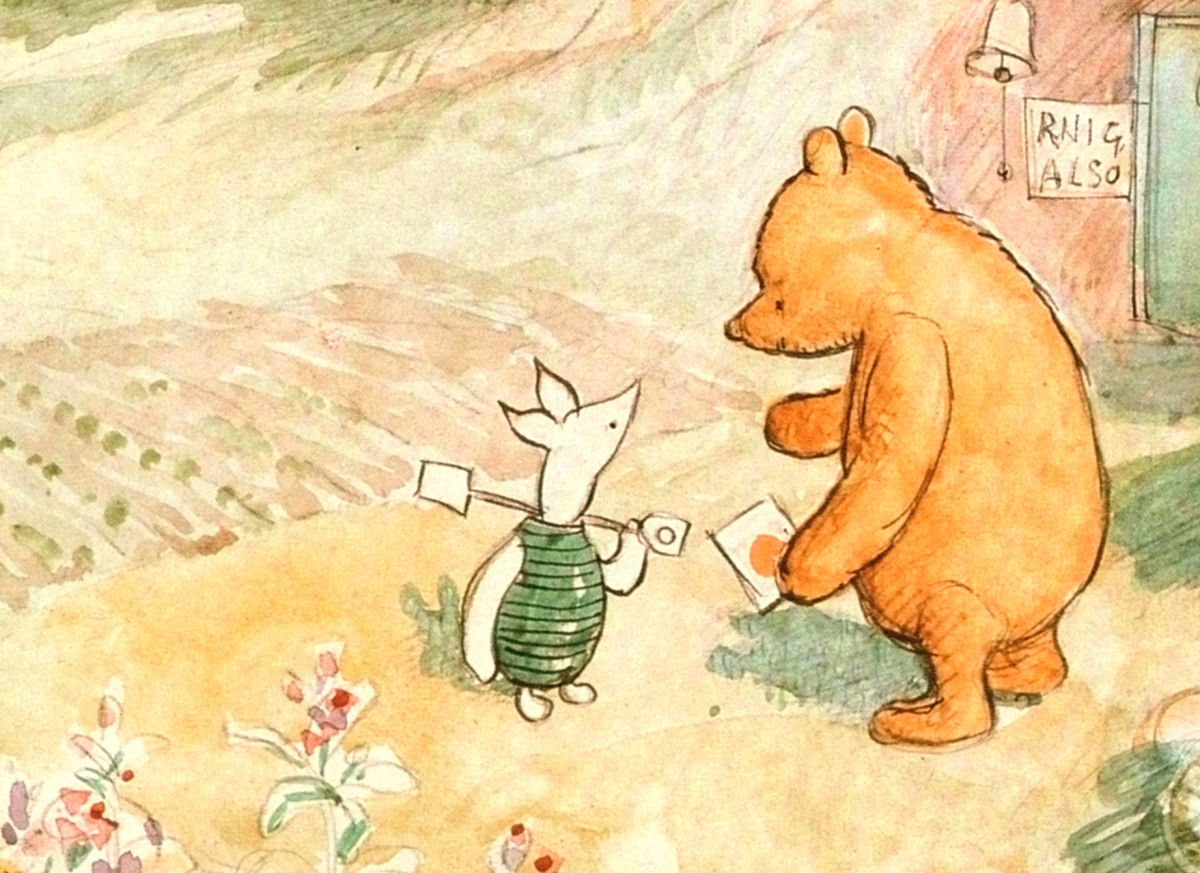 a personal biography of winnie the pooh The rights to a a milne's pooh books were left to four beneficiaries: and some personal effects aa milne, author of winnie-the-pooh.