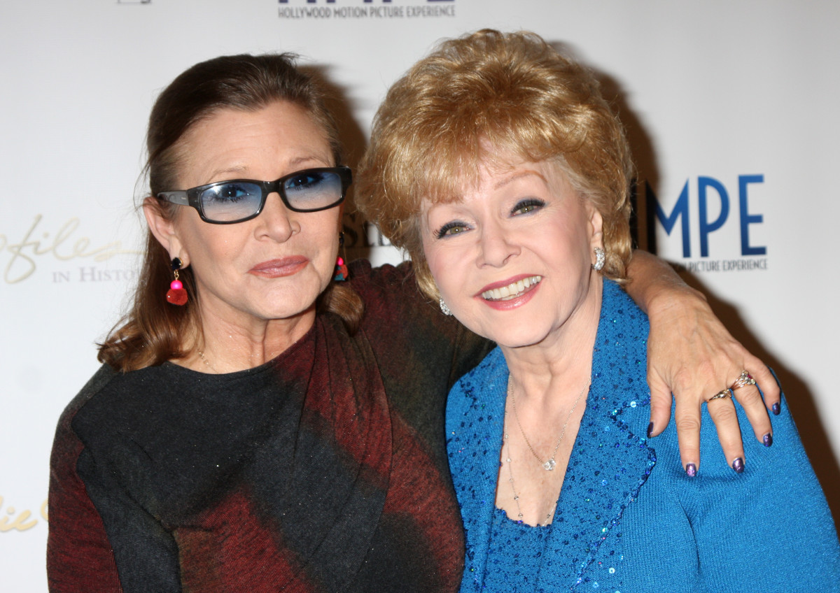 Carrie Fisher Debbie Reynolds Photo