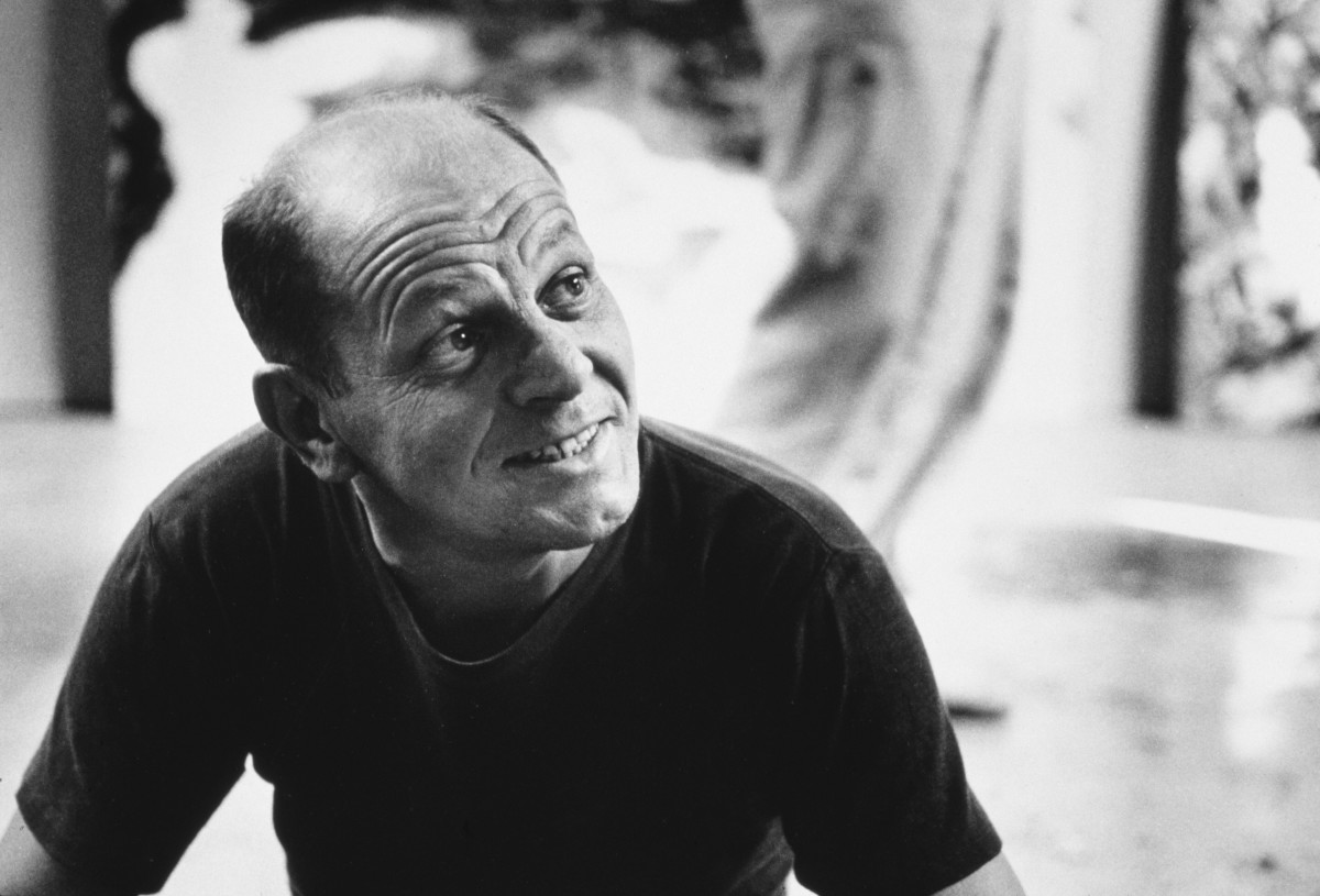 Jackson Pollock (Photo by Tony Vaccarro/Getty Images)