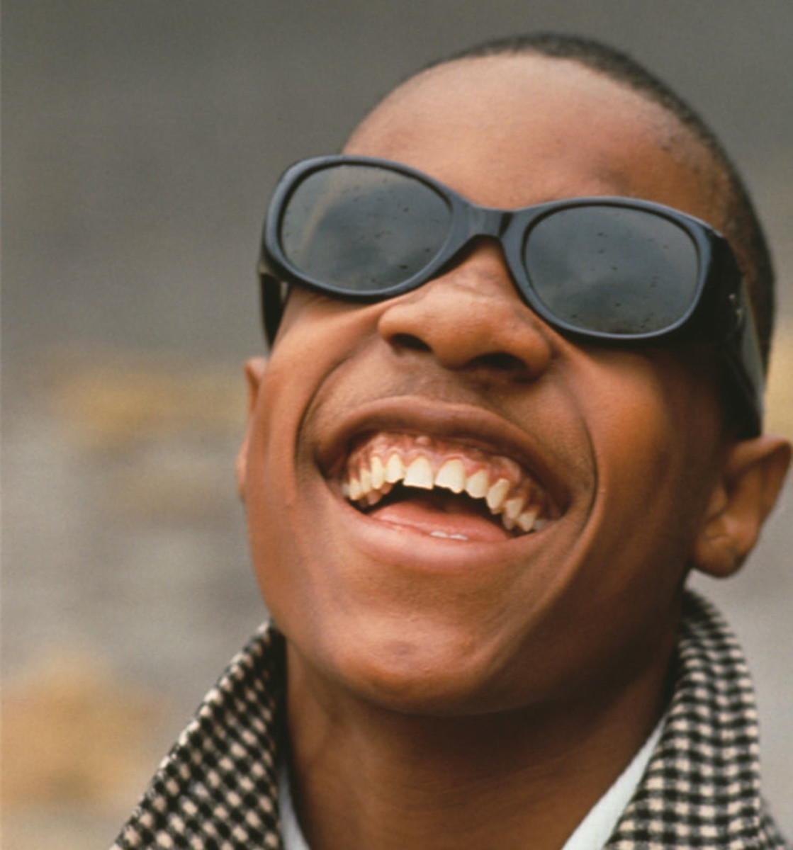 "Blind since shortly after his birth, ""Little Stevie Wonder"" was a prodigy who grew up to be a music legend. Here he is pictured circa 1965. (Photo by Archive Photos/Getty Images)"