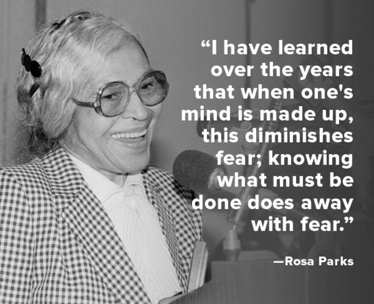 Quote Of The Week Rosa Parks Biography Com