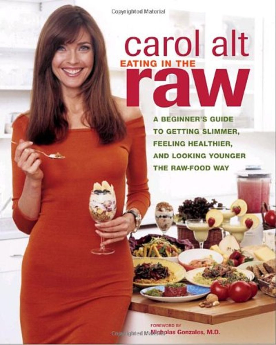Carol Alt Raw Food Photo