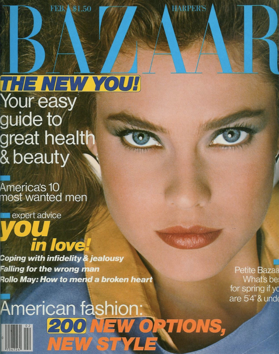Carol Alt Bazaar Photo