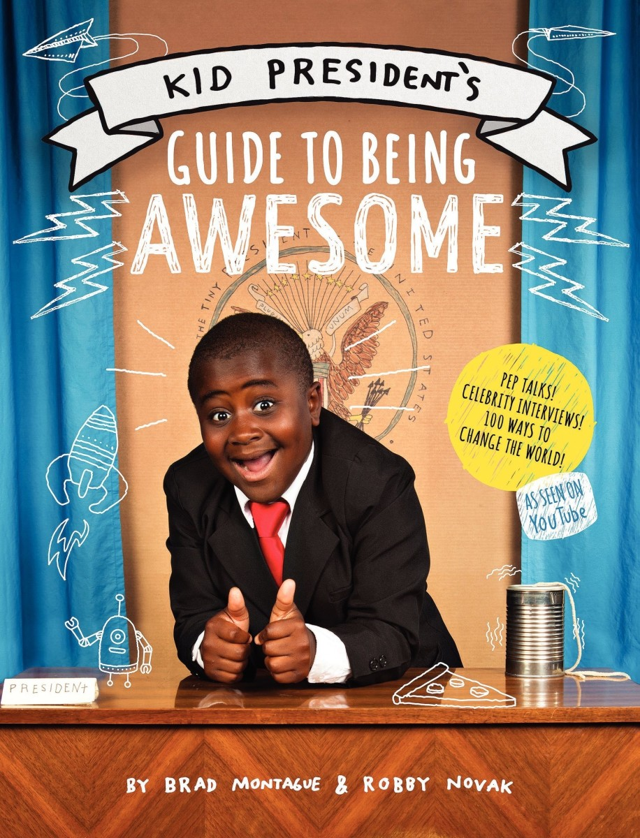 Kid President's first book, written with his brother Brad Montague, was released this month. (Photo: Courtesy HarperCollins)