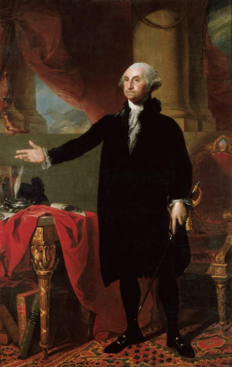 little known facts about george washington com george washington portrait by gilbert stuart 1797 image gilbert stuart public