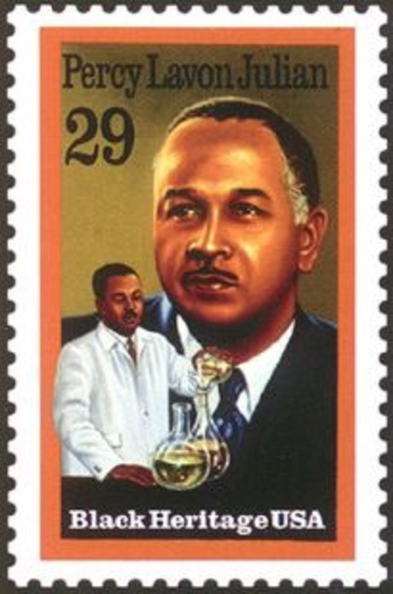 Percy Julian Stamp Photo