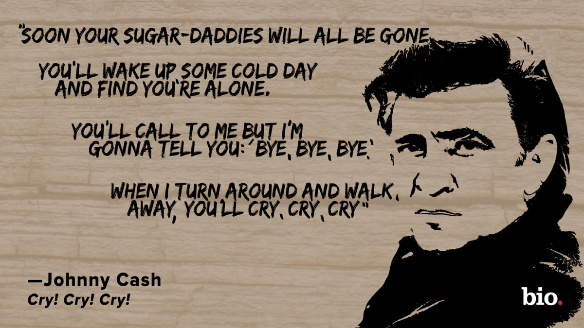 Johnny Cash Cry Cry Cry