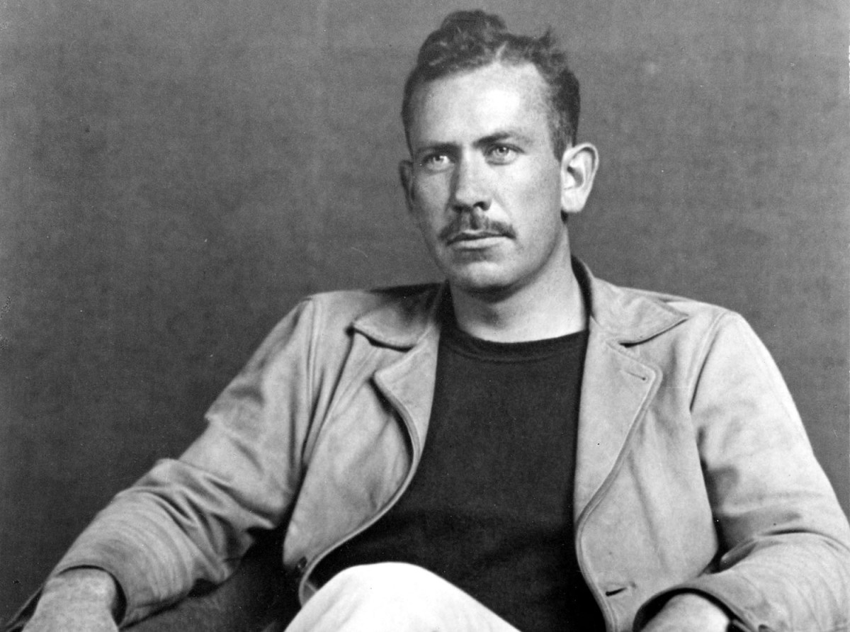 john steinbeck the long road to east of eden biography com john steinbeck photo