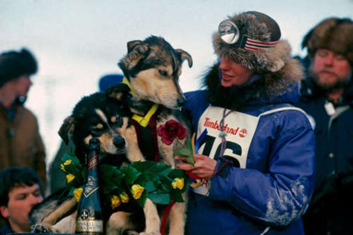 Libby Riddles The First Lady Of The Iditarod Biography