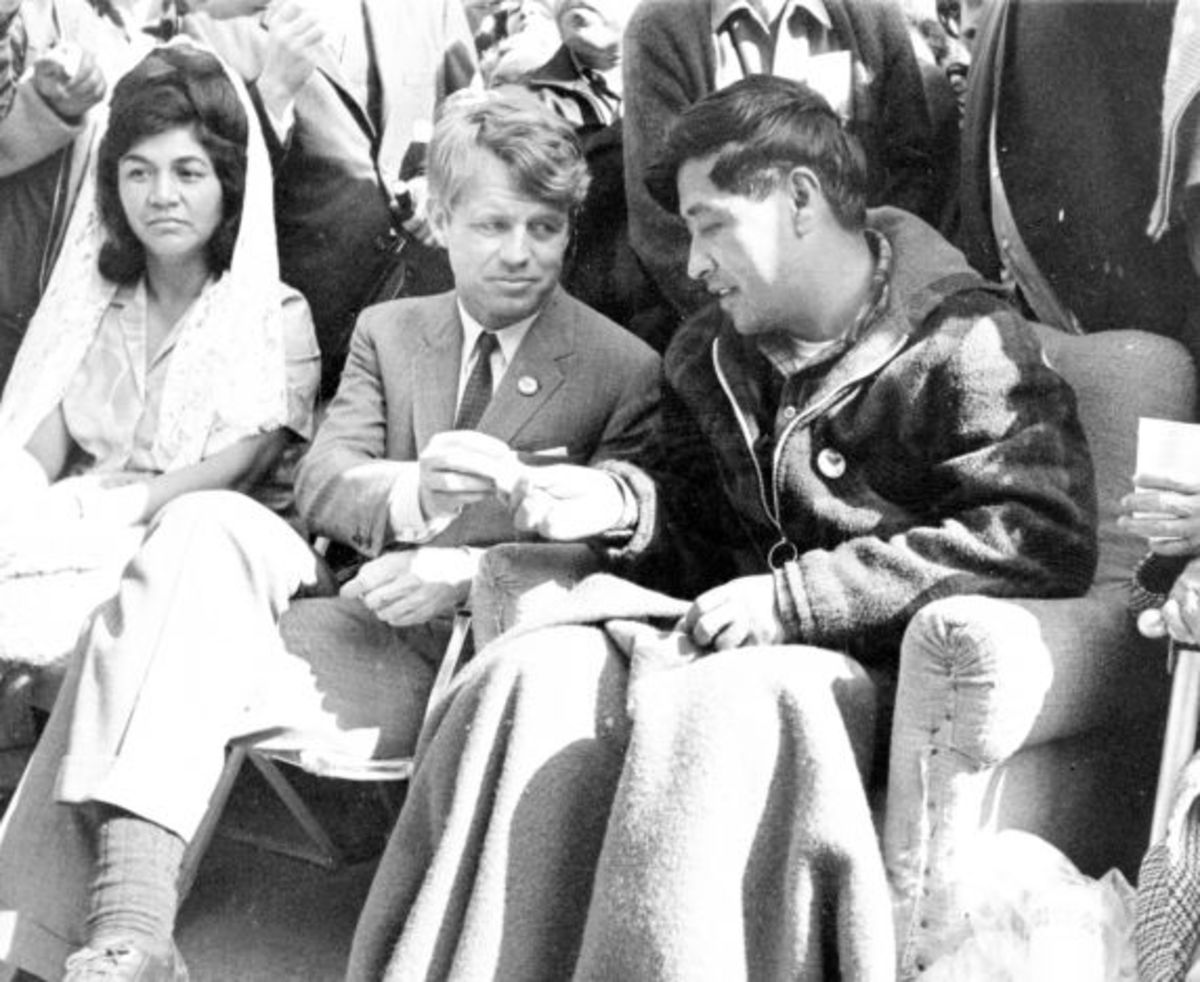 RFK Cesar Chavez Photo