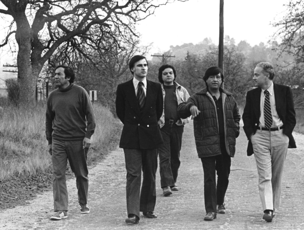 Jerry Brown Cesar Chavez Photo