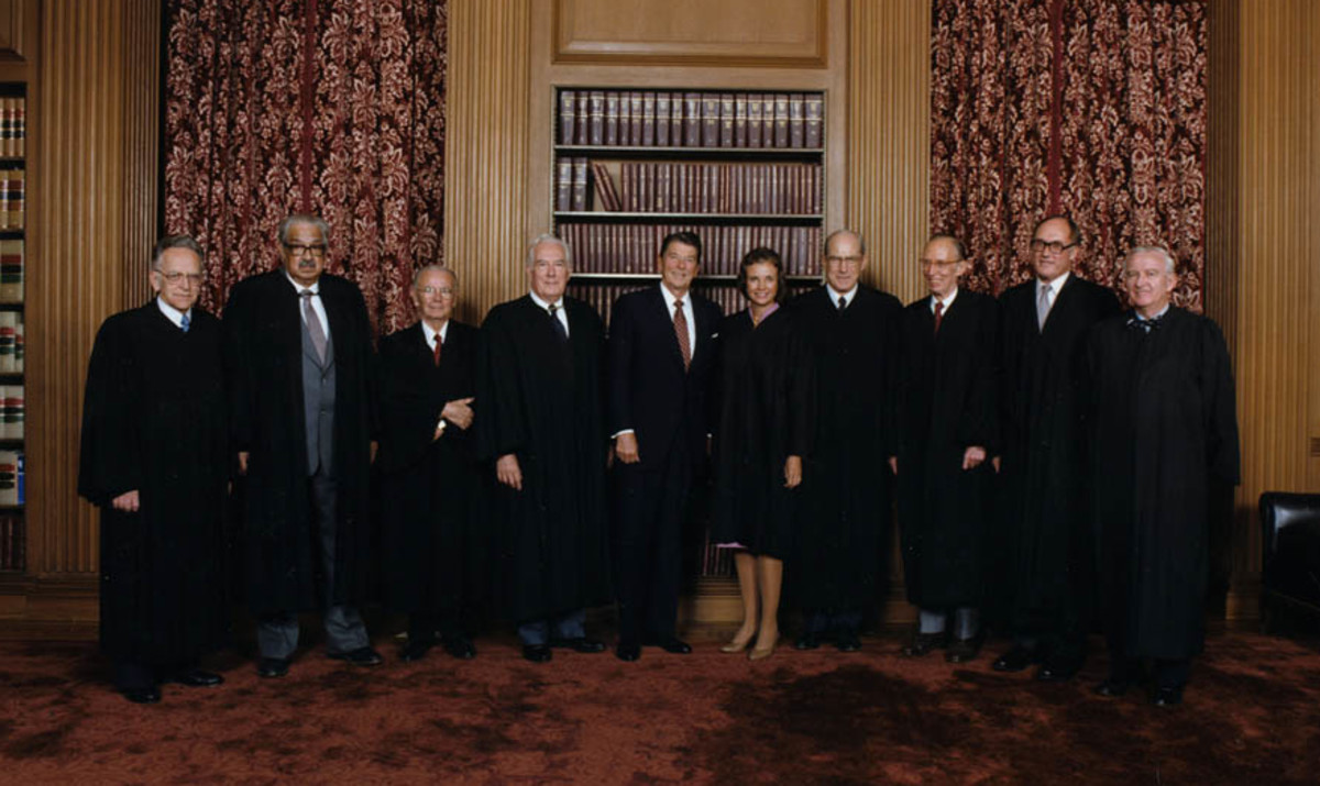 Supreme Court Justices Photo