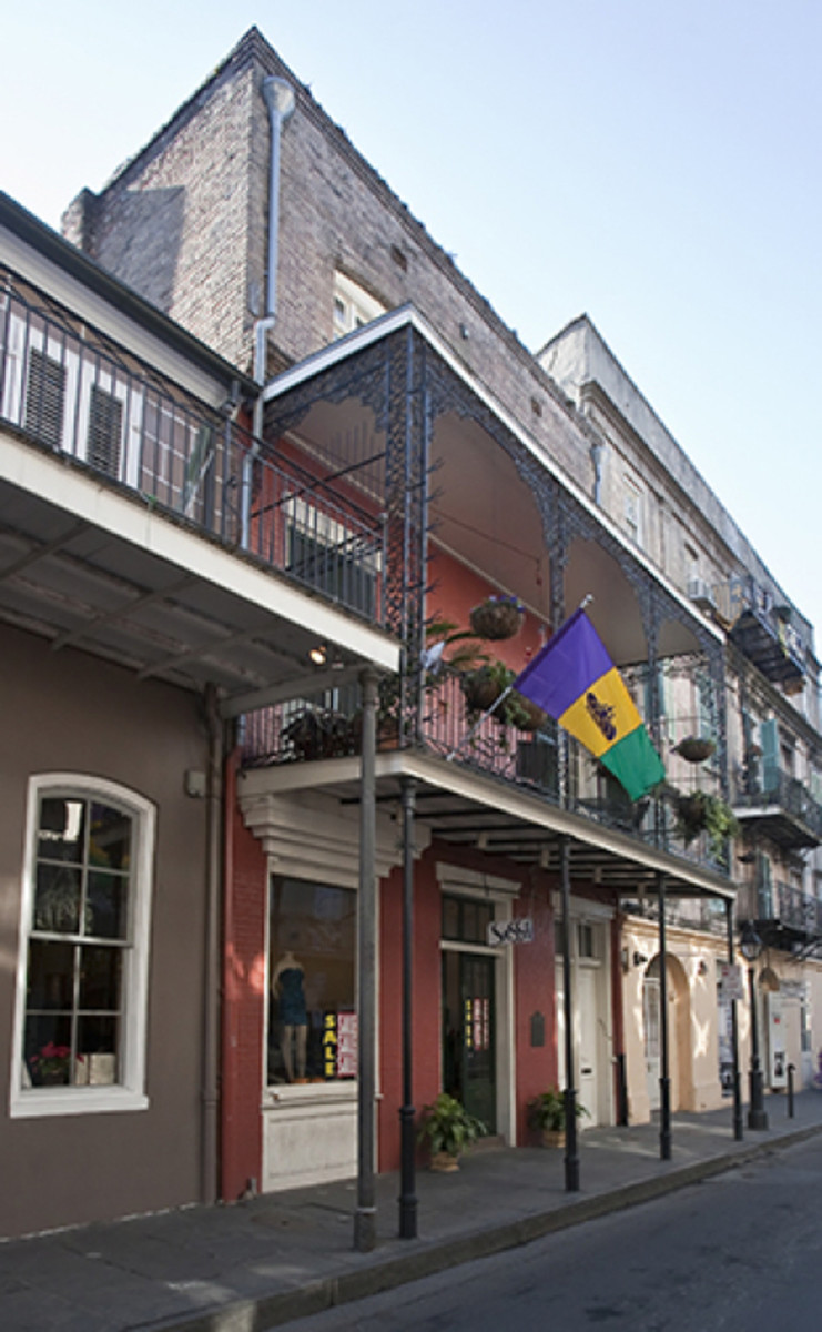632 St. Peter Street New Orleans Photo