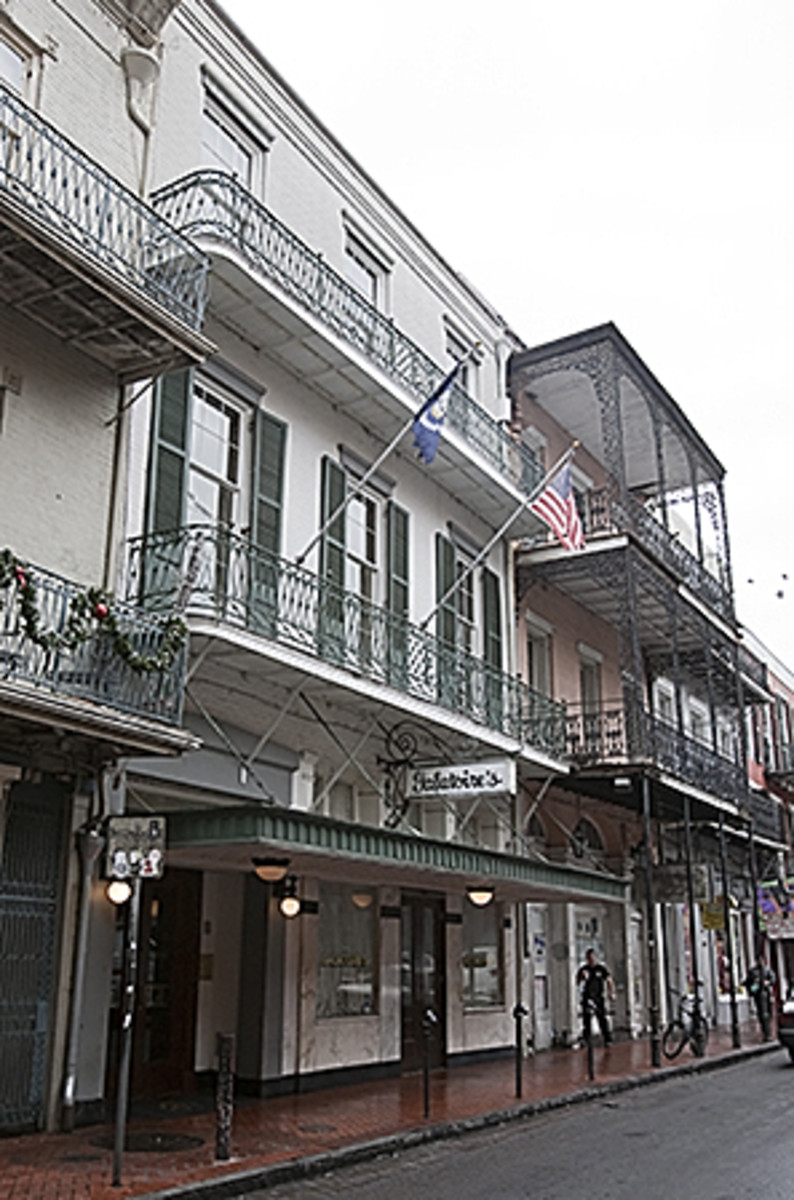 Galatoire's, circa 2010. (Photo: The Collins C. Diboll Vieux Carré Survey at The Historic New Orleans Collection, Square 68)