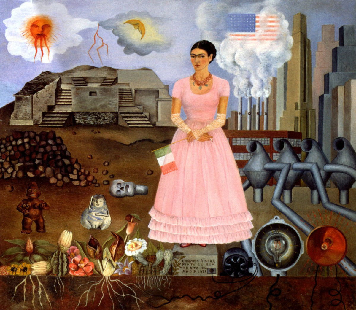 Frida Kahlo Self-Portrait