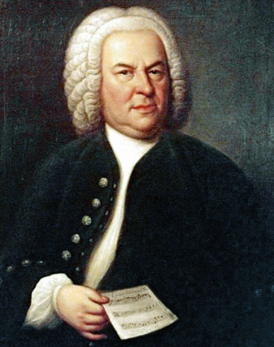 A portrait of Bach at age 61. (Photo: Elias Gottlob Haussmann [Public domain], via Wikimedia Commons)