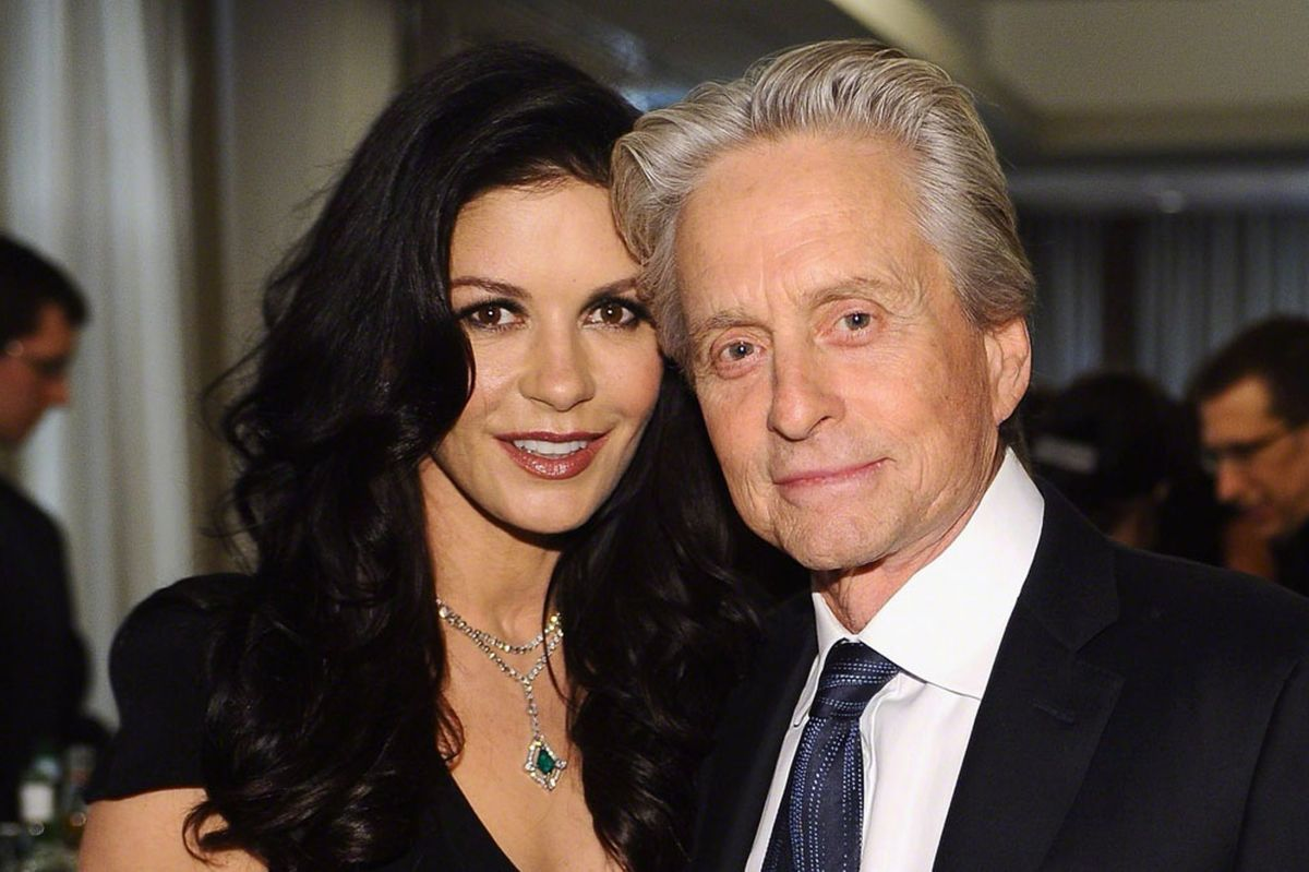 Catherine Zeta Jones Michael Douglas Photo