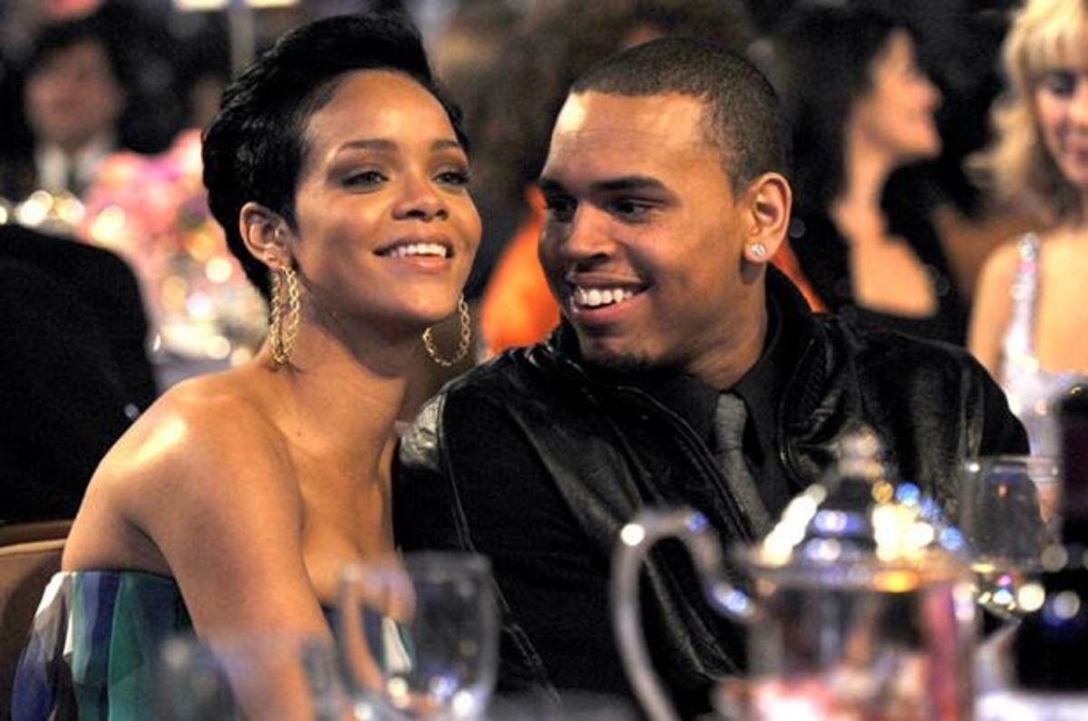 Rihanna Chris Brown Photo