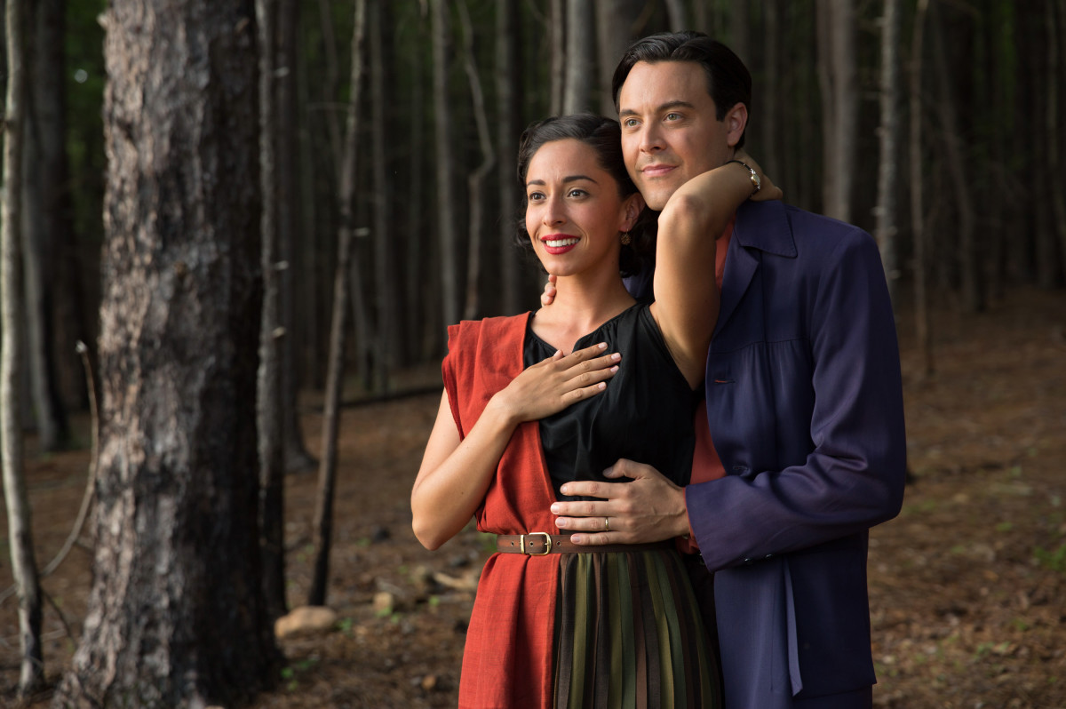 Oona Chaplin Jack Huston Photo