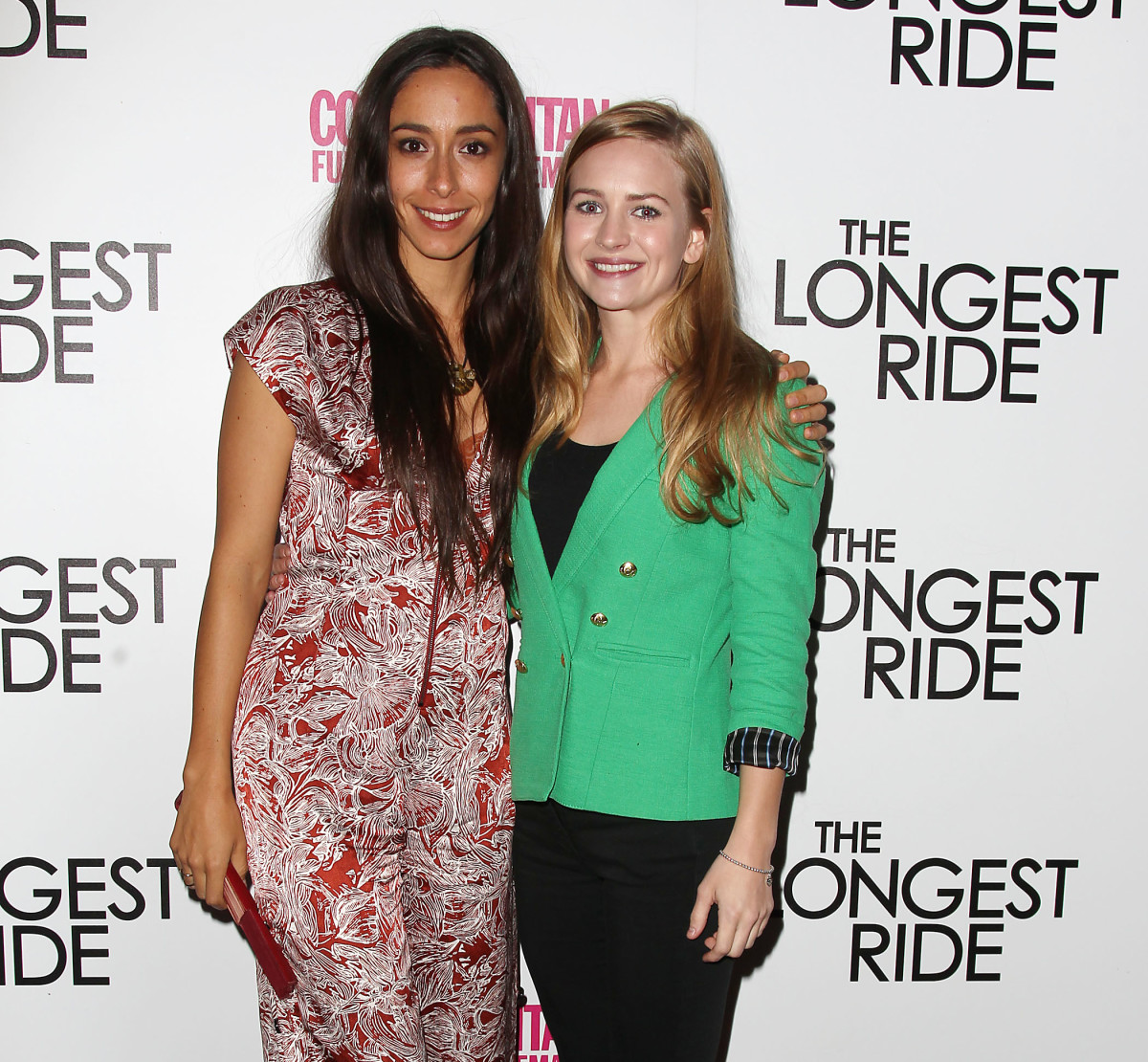 Oona Chaplin Britt Robertson Photo