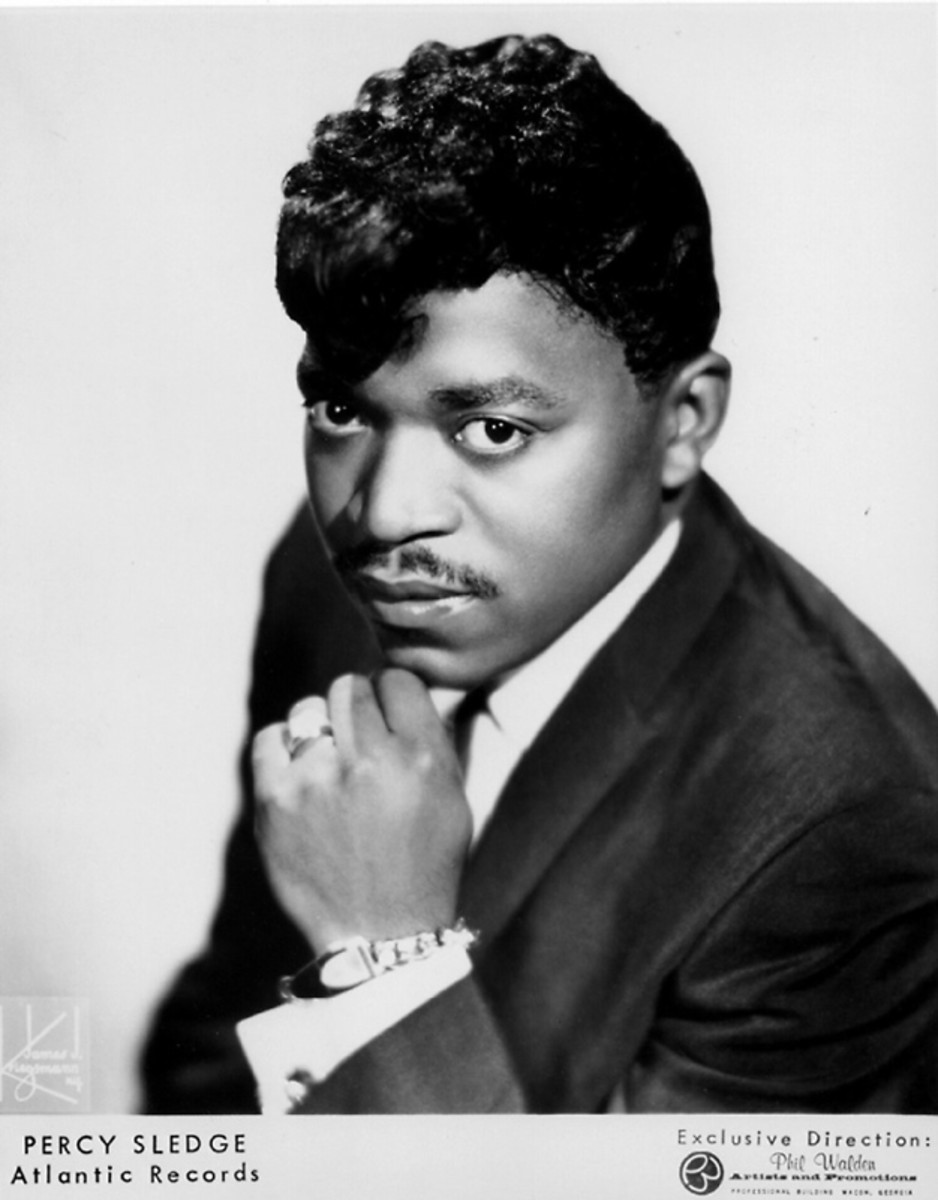 Percy Sledge full - Atlantic Records Publicity Photo