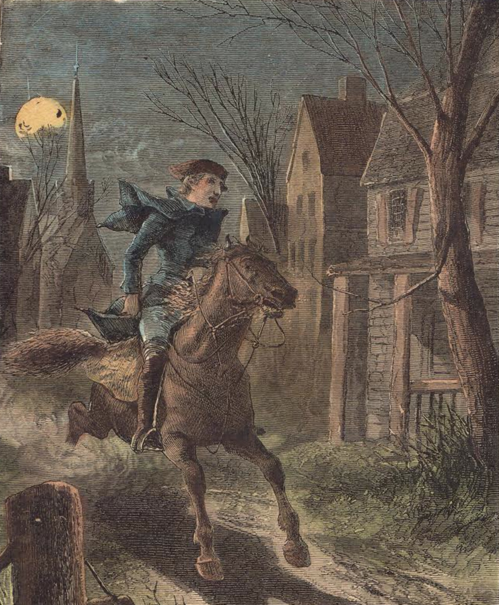 the real story of paul revere s ride com revere wasn t a lone rider but a cog although an important one