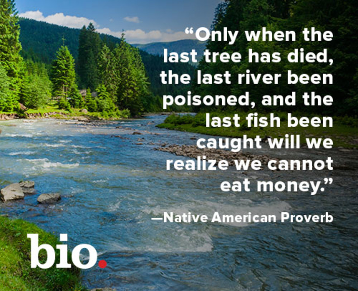 Earth Day Native American quote