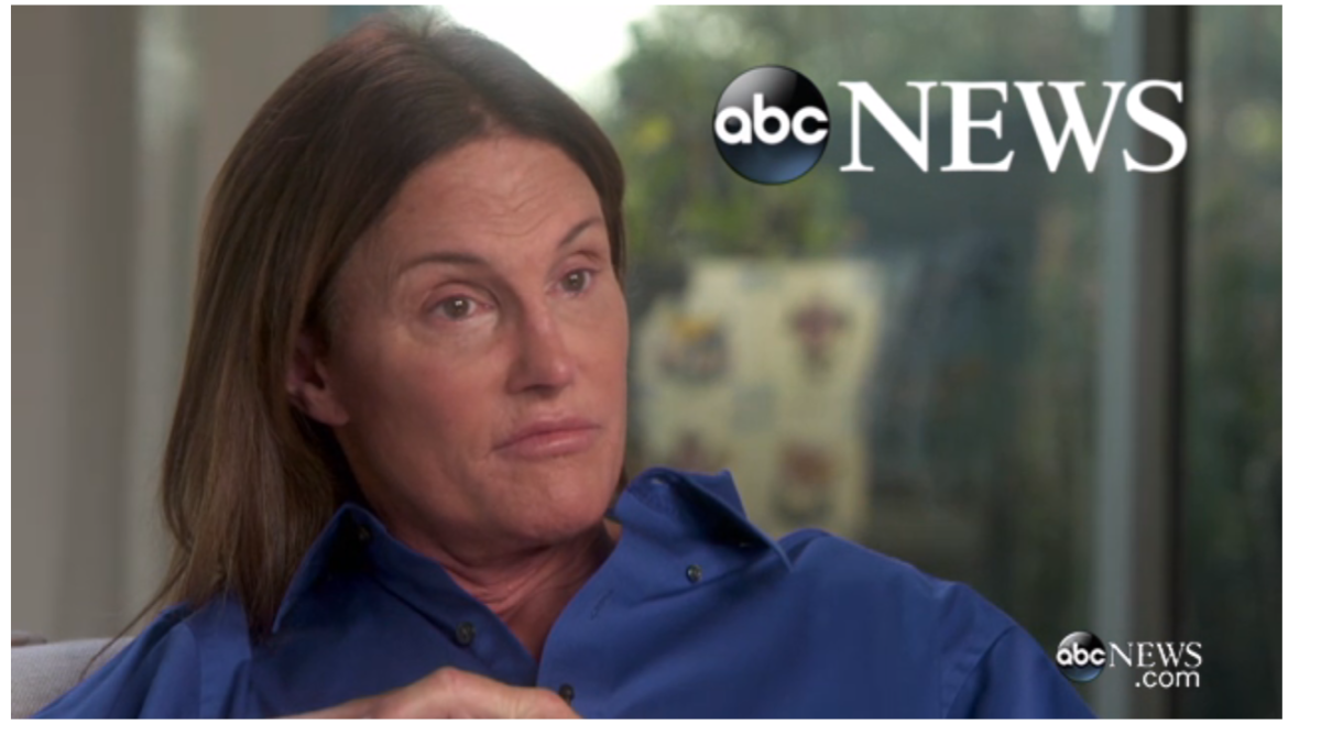 Bruce Jenner Interview Photo