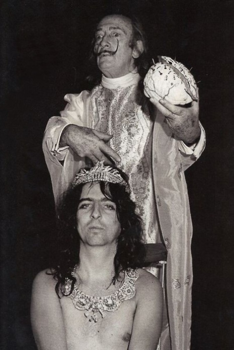 Salvador Dali Alice Cooper Photo