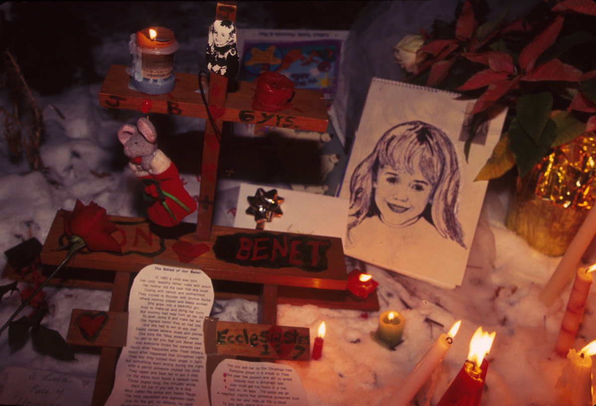 JonBenét Ramsey Memorial in 1997