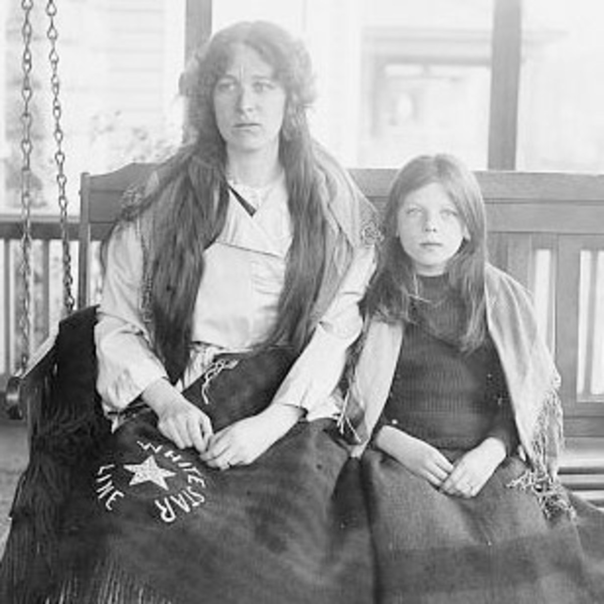 Collyer and her daughter