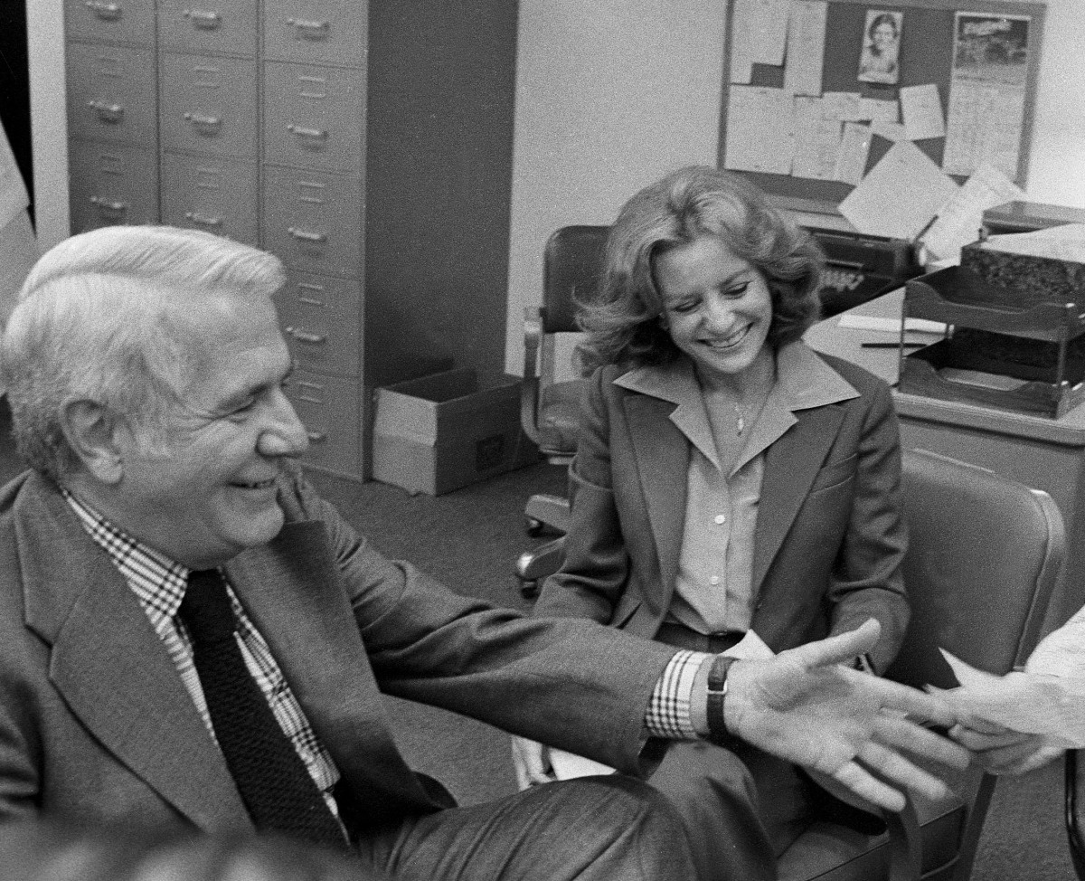 Barbara Walters Harry Reasoner Photo
