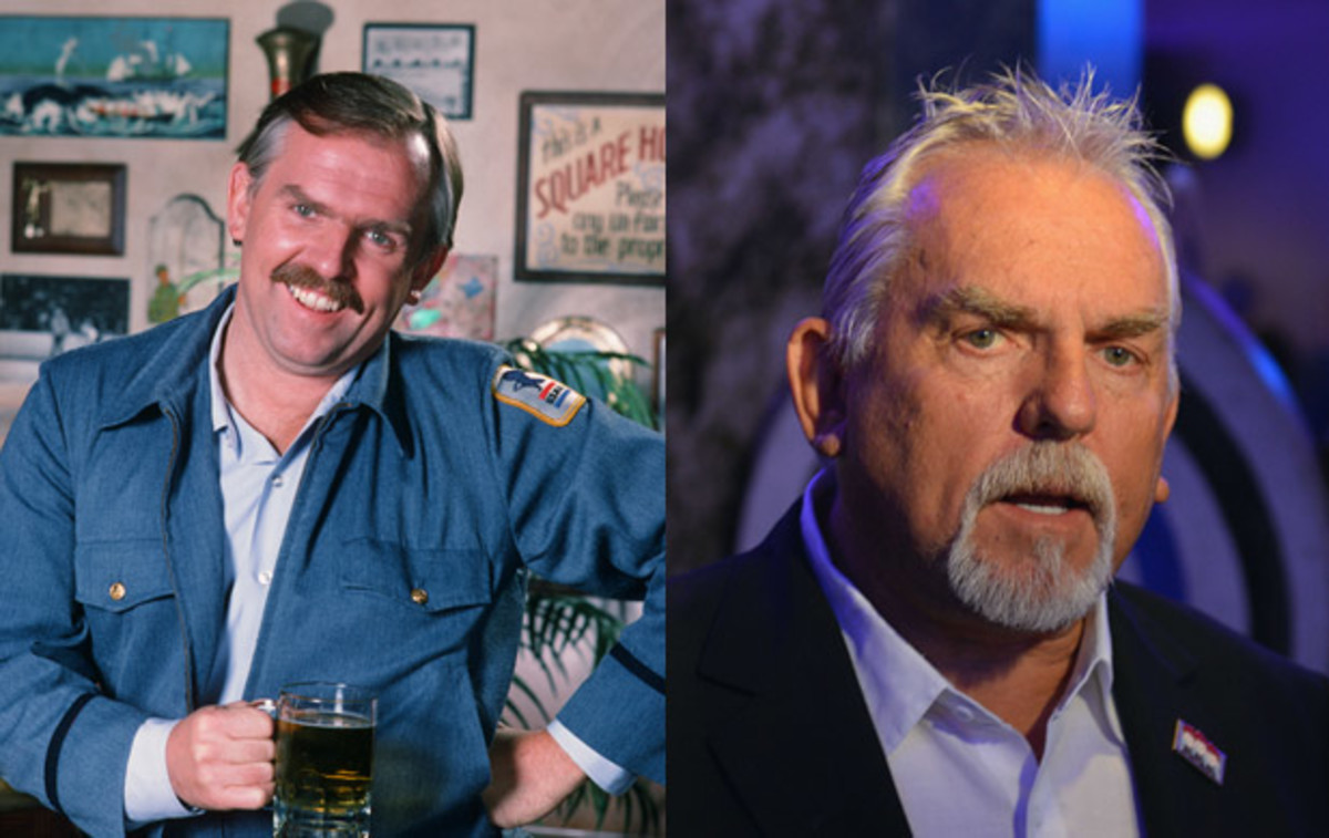 Where Are They Now: Cast of Cheers: Actor John Ratzenberger had auditioned for the role of Norm Peterson, played by George Wendt, but instead landed the part of mail carrier and know-it-all Cliff Clavin. He voiced his well-known Cheers character for an episode of The Simpsons and went on to voice parts in popular animated films including Toy Story, Finding Nemo, The Incredibles, Cars, WALL-E and Brave. (Left) Photo by NBC/NBCU Photo Bank via Getty Images. (Right) Photo by Slaven Vlasic/Getty Images.