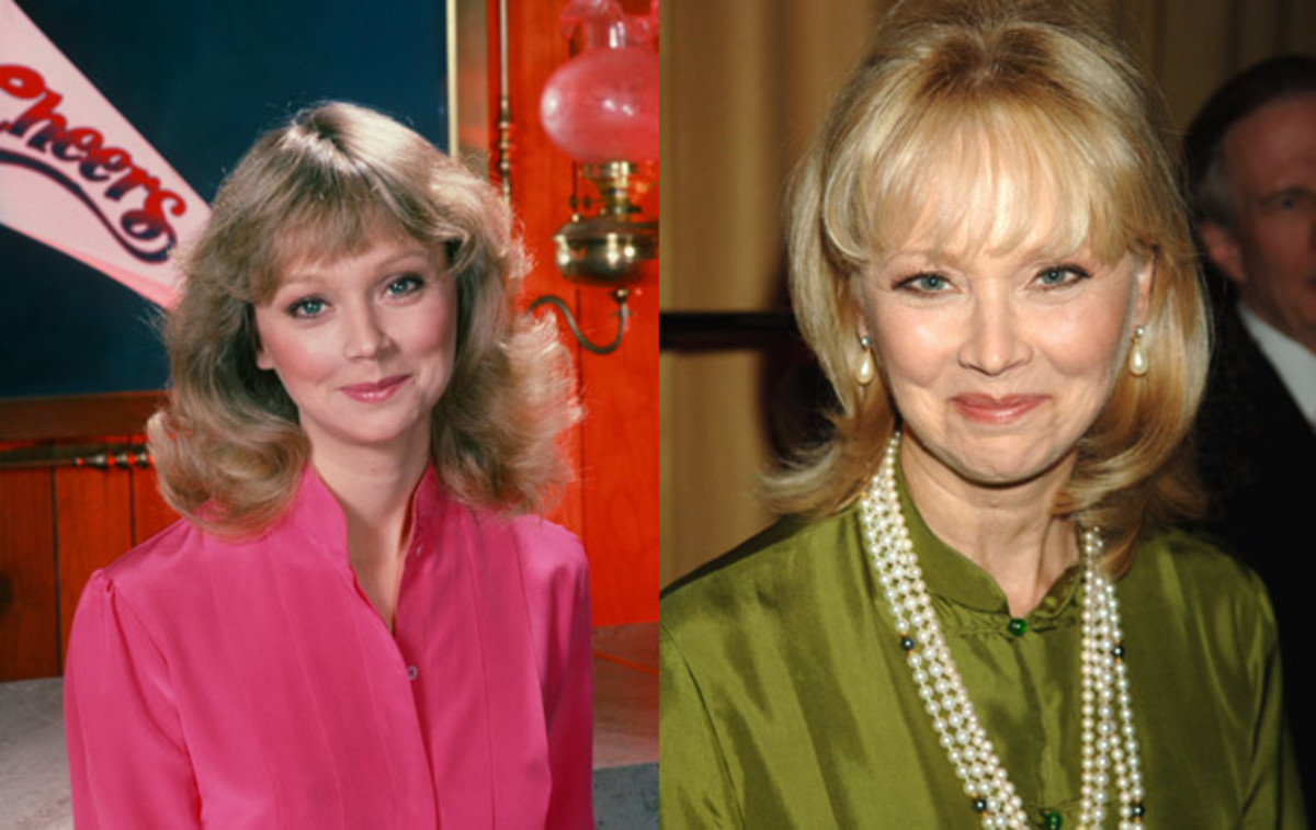 Shelley Long played uptight waitress Diane Chambers, Sam's on-again-off-again love interest, as part of the original Cheers cast. She left the sitcom in 1987 and appeared in movies like Troop Beverly Hills, but returned for the Cheers season finale and made appearances on the spinoff Frasier.