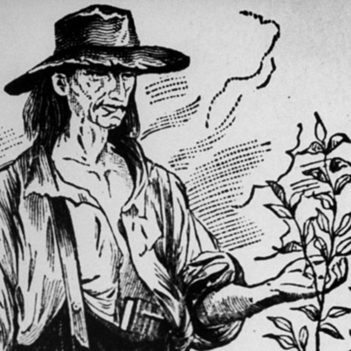 johnny appleseed Almost everyone thinks that johnny appleseed is the mythical hero of a charming  american legend actually, this is the nickname of a real person, john.