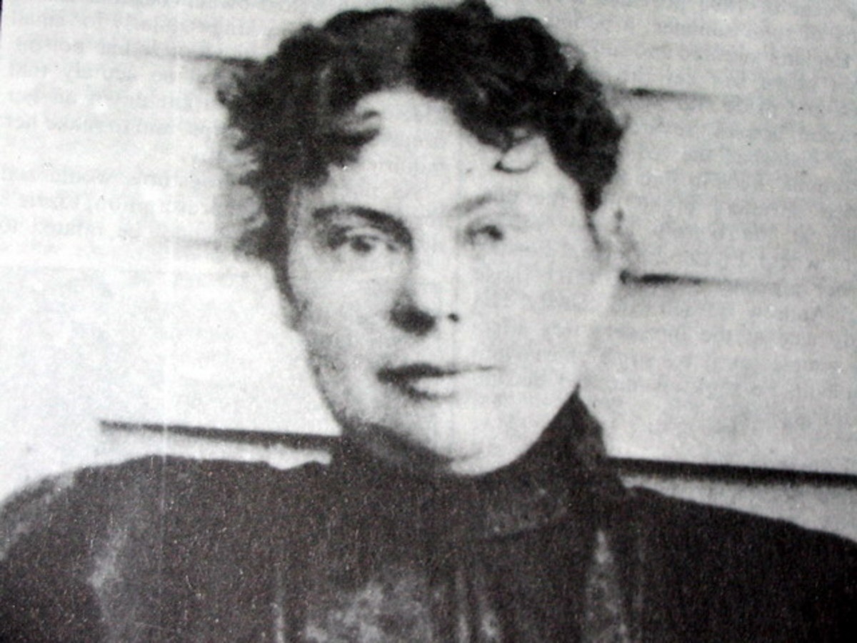 Lizzie Borden (Public domain via Wikimedia Commons)