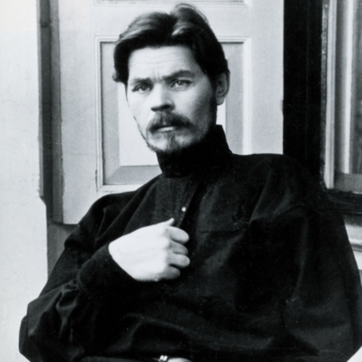 short biography maxim gorky Moscow, soviet union (ussr, russia) various good shots taken from the russian archives during the life of the famous russian writer maxim gorky it is his c.