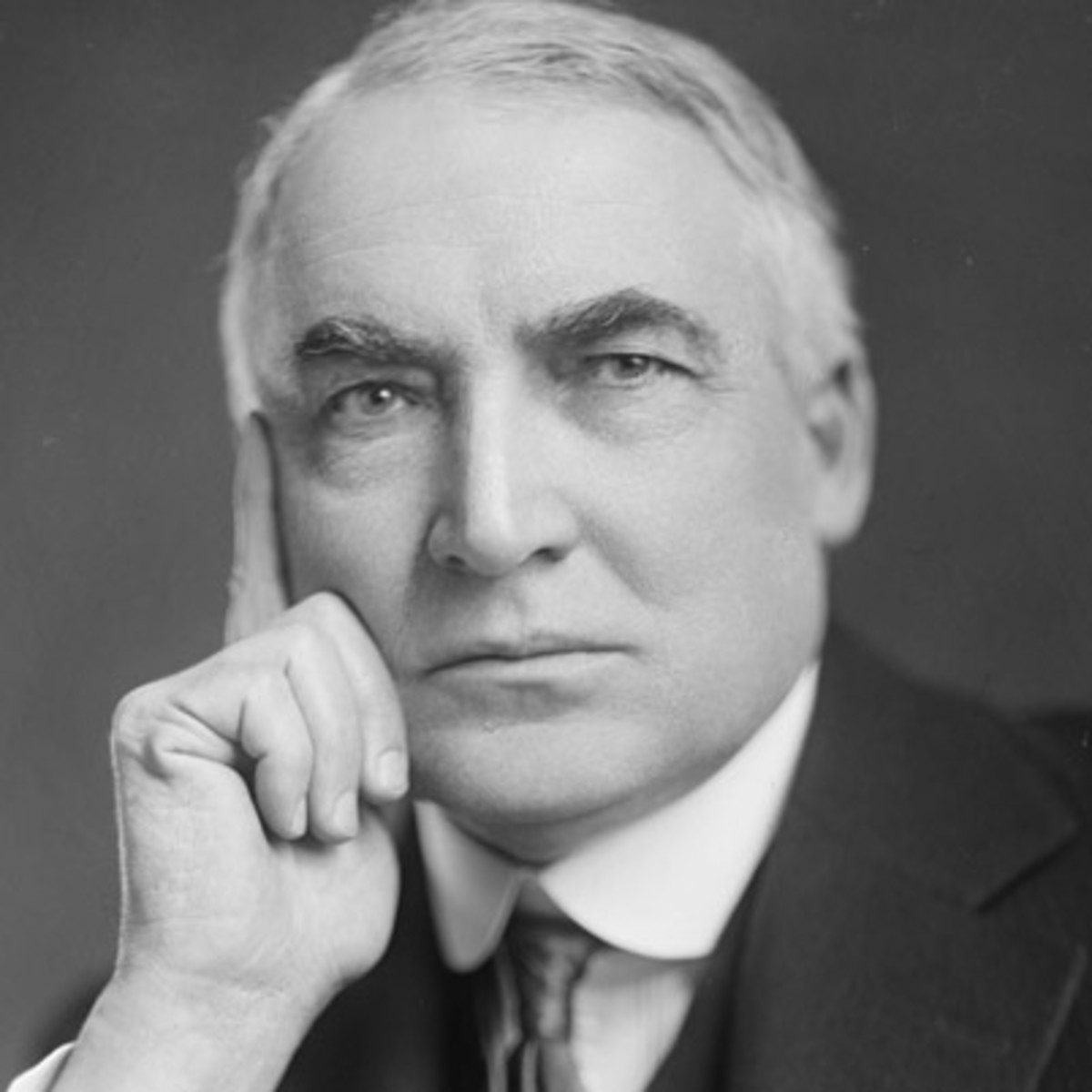 President Warren G. Harding: a lover not a fighter?