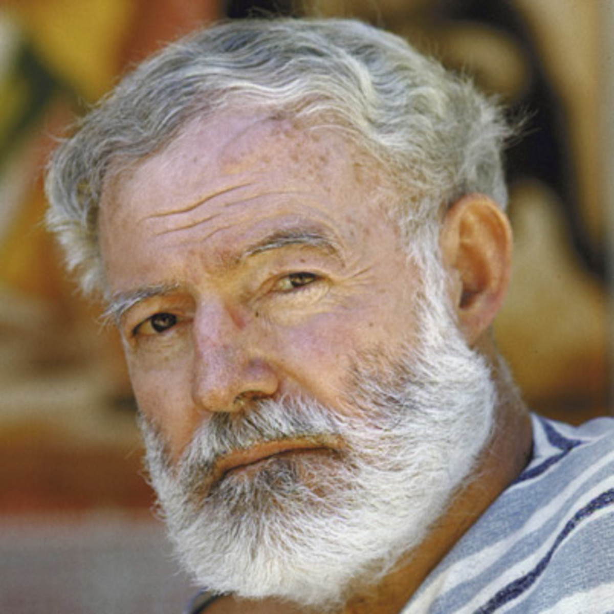 Image result for author ernest hemingway in 1961
