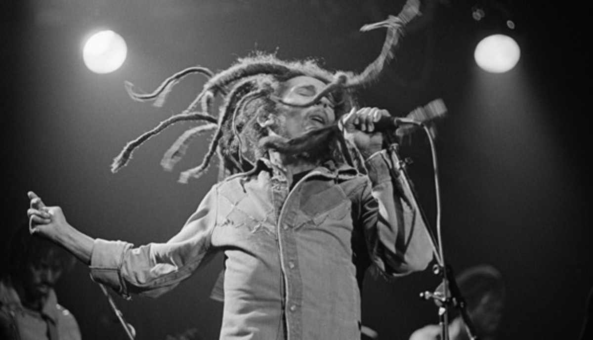 Bob Marley: Before achieving global success, Bob Marley and The Wailers shared concert billing with a relatively unknown Bruce Springsteen and opened for Sly and The Family Stone.
