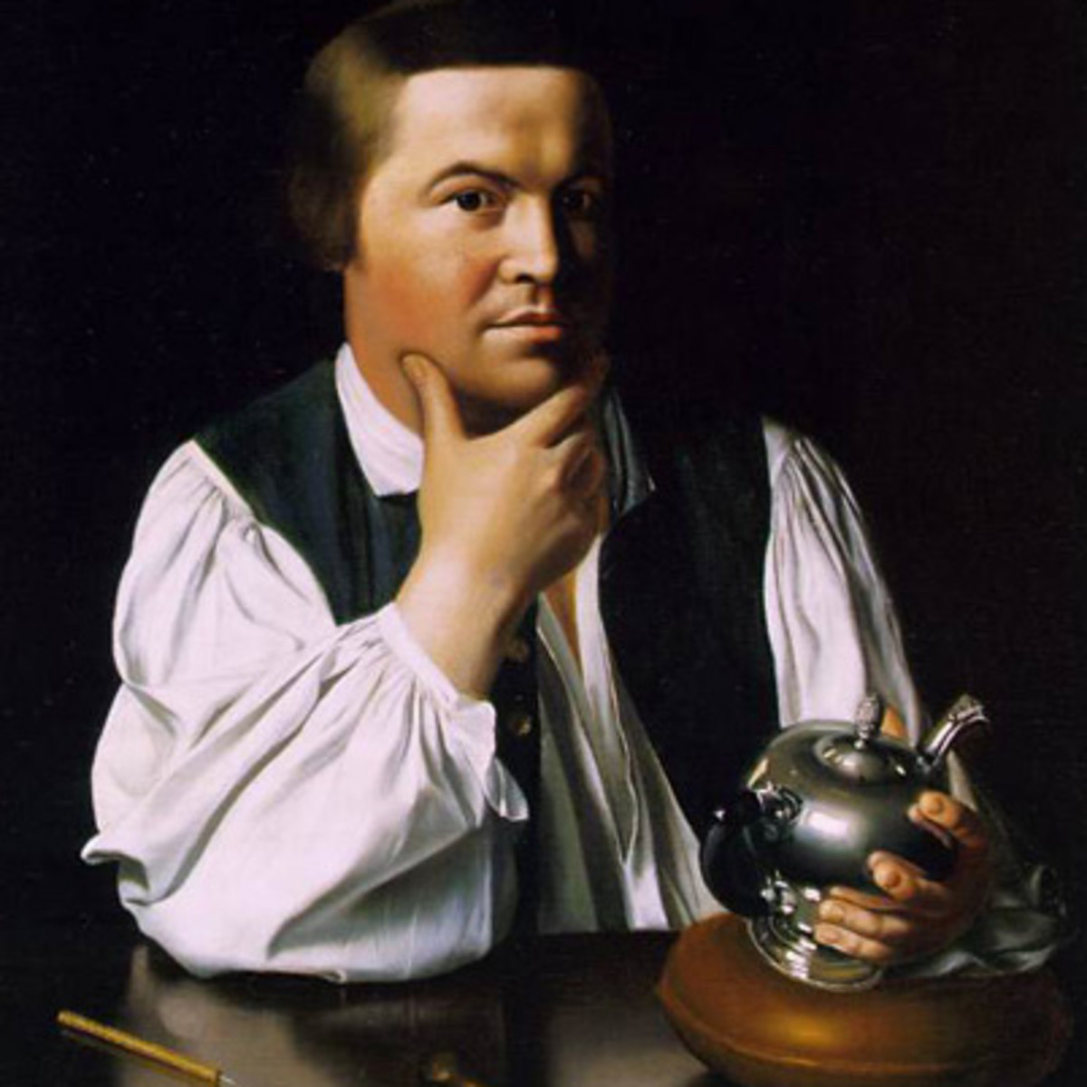 paul revere folk hero biography