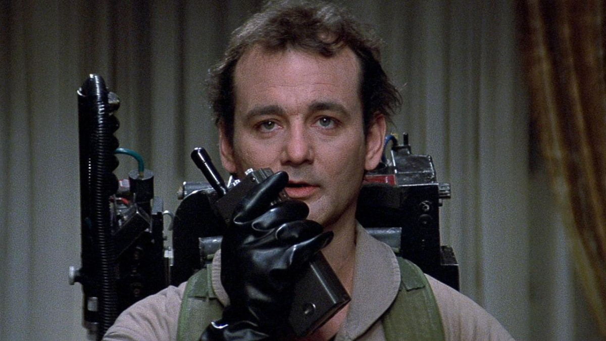 Bill Murray Ghostbusters Photo