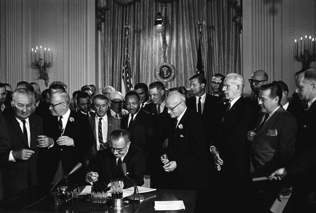 Civil Rights Act 1964 Photo