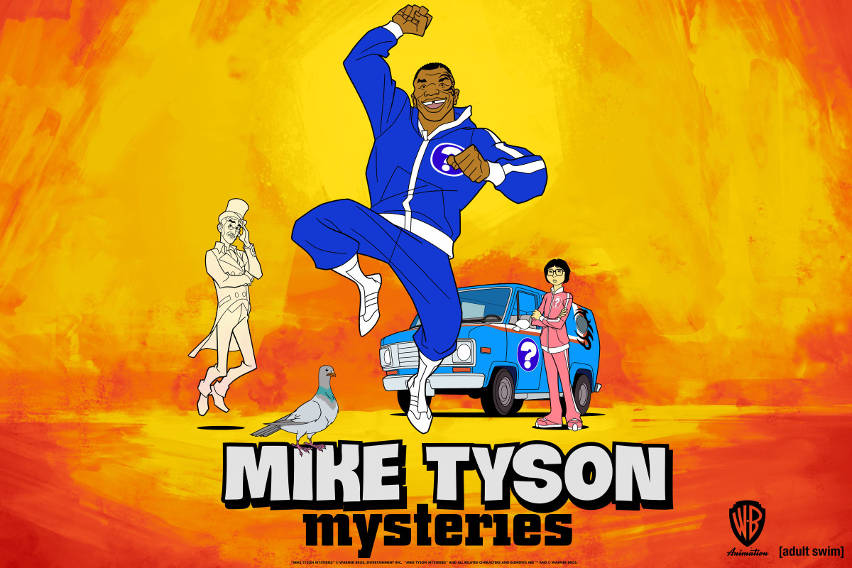 Mike Tyson Mysteries Photo - Raw